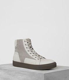 ALLSAINTS ALT HI-TOP SNEAKER. #allsaints #shoes #