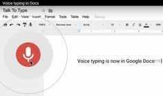 ONE: Google renueva Google Docs agregando dictado por voz y otras funciones