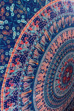 Elephant Tapestry Mandala
