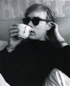 """""""I had a lot of dates, but I decided to stay home and dye my eyebrows."""" / Top 20 Andy Warhol Quotes..."""