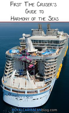 Royal Caribbean has released incredible aerial photographs of their newest cruise ship, Harmony of the Seas. Harmony of the Seas is the largest cruise Honeymoon Cruise, Cruise Travel, Cruise Vacation, Shopping Travel, Beach Travel, Royal Caribbean Ships, Royal Caribbean Cruise, Caribbean Honeymoon, Southern Caribbean