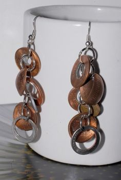 Changes Earrings by ampandolph on Etsy, $15.00