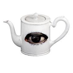 John Derian Company Inc collaboration with Astier de Villatte — Eye Teapot