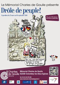 Exposition Drôle de peuple. Du 27 mars au 30 septembre 2013 à Colombey les Deux Eglises.