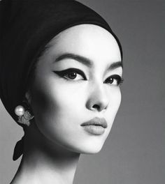Fei Fei Sun photographed by Steven Meisel for Vogue Italia, January 2013.
