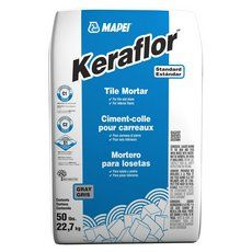 Mapei Keraflor Gray Floor Tile Thin Set Mortar Grey Floor Tiles Grey Flooring White Tile Floor