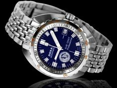 DOXA SUB 1200T NUMA Blue EDITION Best Affordable Watches, Omega Watch, Husband, Luxury, Clocks, Blue, Accessories, Toys, Google