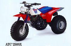 1986 Honda 250SX 3 wheeler