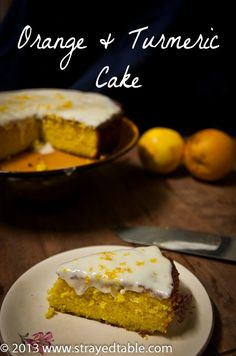 Fantastic gluten free orange turmeric cake recipe which is simple and easy to make using polenta. Options also to make the orange turmeric cake dairy free