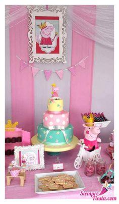 Bonitas ideas para tu próxima fiesta de Peppa Pig. Dale clic a la imagen y consigue todo para tu fiesta en nuestra tienda en línea.