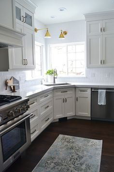 Corner Kitchen Sink Design Ideas | Corner sink kitchen, Corner ...