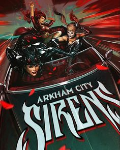 Gotham City Sirens by Yama Orce - Visit to grab an amazing super hero shirt now on sale!