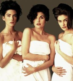 Isabel Snyder for Rolling Stone Magazine (with Sherilynn Fenn and Lara Flynn Boyle)
