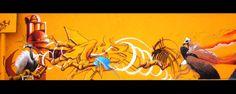graffito in fase di ultimazione