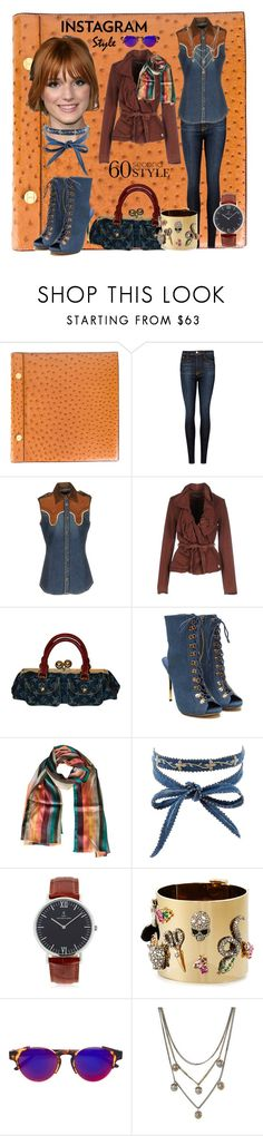"""""""jasinta-3636"""" by jasintasss ❤ liked on Polyvore featuring Hermès, Frame, Dsquared2, Manila Grace, Louis Vuitton, Paul Smith, Chan Luu, Kapten & Son, Alexis Bittar and RetroSuperFuture"""