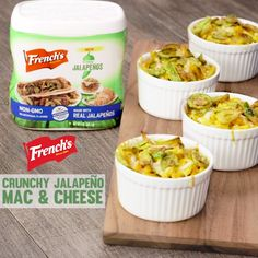 Kick your mac & cheese up a notch with this super cheesy recipe with the perfect blend of spice and crunch!