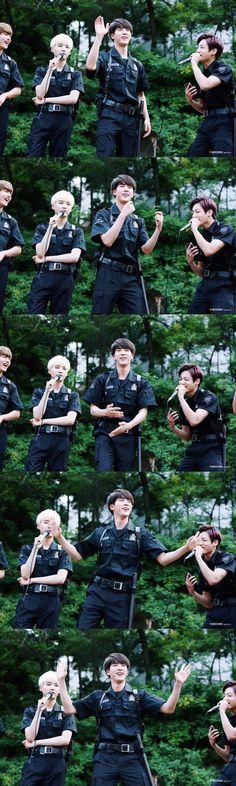 BTS @ 150705 Inkigayo Fanmeeting