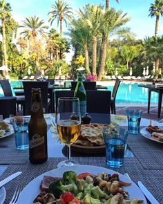 Lunchtime  #Marrakech #Marrakesh #Morocco #Marocco #Maroc #Marruecos #Marrocos #LaMamounia #Africa #NorthAfrica #InstaLike #InstaGood #InstaPic #InstaDaily #InstaTravel #Wanderlust #TravelGram
