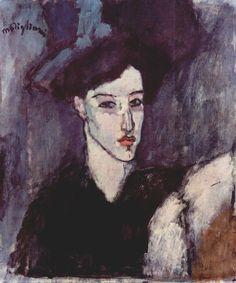 "Amedeo Modigliani ""The Jewess"" Art Print by Alexandra_Arts - X-Small Amedeo Modigliani, Modigliani Paintings, Pierre Auguste Renoir, Edouard Manet, Cleveland Museum Of Art, Camille Pissarro, Italian Painters, Edgar Degas, Paul Cezanne"