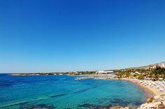 Cyprus Pafos Pegeia Coral Bay beach