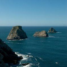 Les Tas de Pois sur la presqu'île de Crozon, pointe de Pen-Hir