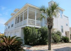 Outside view of house - Tybee Island house rental