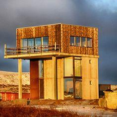 Una casa islandese molto lineare
