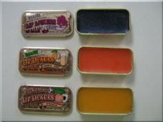 Suzy, add this to your 70s board!  Fourth Grade Nothing: Village Lip Lickers | Lip Balm or Gloss in a Tin