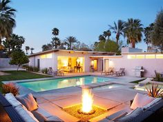 VRBO.com #326710ha - Private Mieselman Mid-Century Modern with Views and Stunning Saltwater Pool