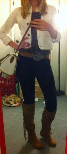 Country outfit. Cowgirl outfit.