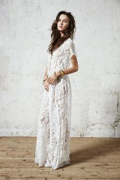 This kind of looks like a jumpsuit...which would also be dope, but for a very casual wedding...