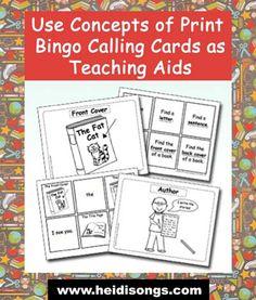 Concepts of Print Bingo Calling Cards