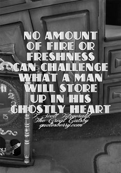 f scott fitzgerald quotes | ... man will store... | F. Scott Fitzgerald Picture Quotes | Quoteswave