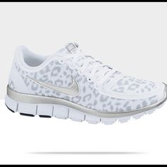 Nike Free 5.0 cheetah shoe(size 9) Worn twice very gently used! See photos... Nike Shoes Athletic Shoes