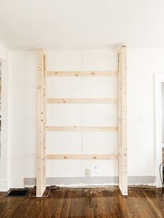 Step by step tutorial on how to build an inexpensive shiplap fireplace using an electric insert Transform your boring TV wall into a statement piece DIY Faux Fireplace DIY Fireplace Mantel DIY Fireplace With TV Above Diy Fireplace Mantel, Tv Over Fireplace, Fireplace Tv Wall, Build A Fireplace, Fireplace Built Ins, Shiplap Fireplace, Fireplace Design, Rustic Mantel, Bedroom Fireplace