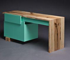 "colourful-design: ""habanerocollective: "" DIY: Desk Edition "" Colourful design blog x """