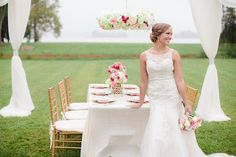 Styled shoot put together by some great vendors! *Dress from Sealed With A Kiss - www.sealedwithakissbrial.com Lettier Studio Classic Party Rentals of VA Lou Stevens Glam Squad Design Corral Berkeley Plantation Sassy Snapdragon Florals Helena Noelle Sealed With A Kiss