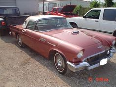 1957 Ford Thunderbird - Classic car restoration and repairs done by Wilson Auto Repair in Texas.