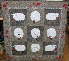 Judy Cooper Textile Images: Sheep at Stonehenge