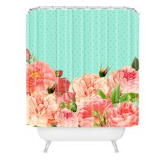 Allyson Johnson Sweetest Floral Shower Curtain   DENY Designs Home Accessories