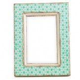 Wallpaper Wooden Photo Frame (Mint)