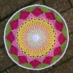 Ravelry: King Protea Mandala (King Sugar Bush) pattern by Dedri Uys