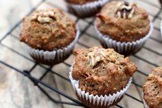 Walnut Apple Muffins #Brunch #Muffin #Apple