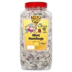 Tuck Shop Mint Humbugs 2.75kg #Tuckshop Mint Humbugs, Wedding Favours, Party Wedding, Favors, Jar, Sweets, Bottle, Chocolates, Gifts