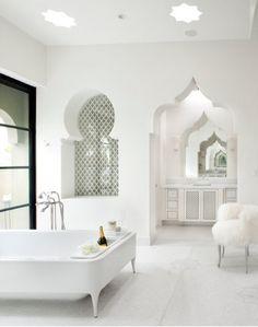 Arabic style luxury bathroom