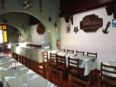 El Embrujo es un restaurante de comida criolla ubicado en Miraflores (Lima, Perú), su comida es altamente recomendable. The Embrujo restaurant is a traditional Peruvian restaurant situtated in Miraflores (Lima, Peru). It´s famous for its delicious food.  www.placeok.com