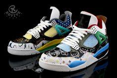 "Air Jordan IV ""What The Fake"" by Revive"