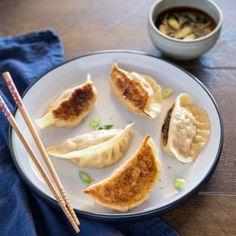 Korean Kimchi Mandu (Kimchi Dumplings)