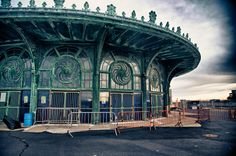 Old Carousel and Casino building. Gone but not forgotten. Asbury Park, NJ