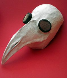 Here are the instructions for my plague doctor mask for Halloween. The principles of this method can easily be adapted to make other designs of mask. A Black Death. Black Death Plague Doctor, Black Plague Mask, Plague Doctor Mask, Halloween Masks, Fall Halloween, Halloween Crafts, Asylum Halloween, Halloween Tutorial, Halloween 2020
